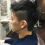 カップルでご来店の彼氏さんのヘアスタイル!