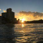 ハワイ旅行4日目 日の出とサイクリング