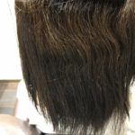 白髪染めでダメージがある髪で縮毛矯正で綺麗な髪に!